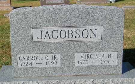 JACOBSON, CARROLL C JR - Lincoln County, South Dakota | CARROLL C JR JACOBSON - South Dakota Gravestone Photos