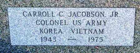 JACOBSON, CARROLL C. JR - Lincoln County, South Dakota   CARROLL C. JR JACOBSON - South Dakota Gravestone Photos