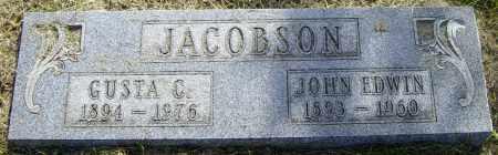 JACOCBSON, JOHN EDWIN - Lincoln County, South Dakota | JOHN EDWIN JACOCBSON - South Dakota Gravestone Photos
