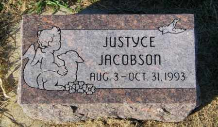 JACOBSON, JUSTYCE - Lincoln County, South Dakota | JUSTYCE JACOBSON - South Dakota Gravestone Photos