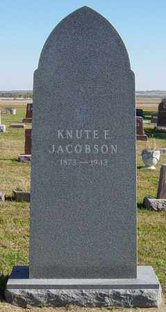 JACOBSON, KNUTE E - Lincoln County, South Dakota | KNUTE E JACOBSON - South Dakota Gravestone Photos