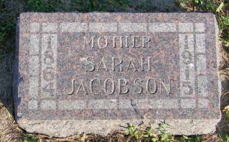 JACOBSON, SARAH - Lincoln County, South Dakota   SARAH JACOBSON - South Dakota Gravestone Photos