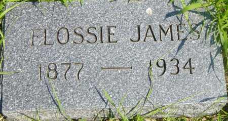 JAMES, FLOSSIE - Lincoln County, South Dakota | FLOSSIE JAMES - South Dakota Gravestone Photos