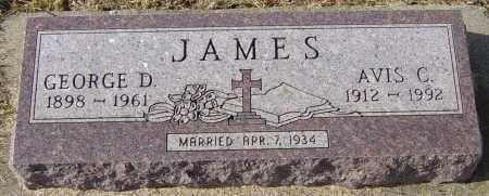JAMES, AVIS C - Lincoln County, South Dakota | AVIS C JAMES - South Dakota Gravestone Photos