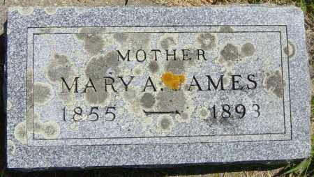 JAMES, MARY A - Lincoln County, South Dakota   MARY A JAMES - South Dakota Gravestone Photos