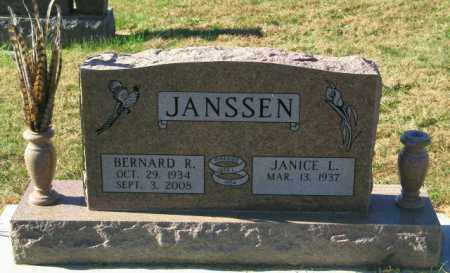 JANSSEN, JANICE L - Lincoln County, South Dakota | JANICE L JANSSEN - South Dakota Gravestone Photos