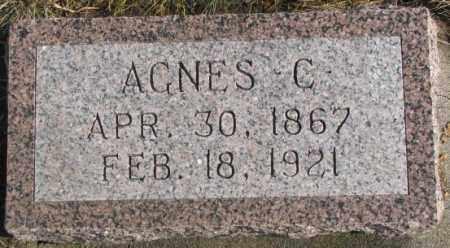JENNEWEIN, AGNES C. - Lincoln County, South Dakota | AGNES C. JENNEWEIN - South Dakota Gravestone Photos
