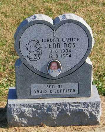 JENNINGS, JORDAN WYTICE - Lincoln County, South Dakota | JORDAN WYTICE JENNINGS - South Dakota Gravestone Photos