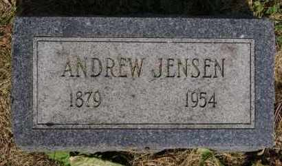 JENSEN, ANDREW - Lincoln County, South Dakota | ANDREW JENSEN - South Dakota Gravestone Photos