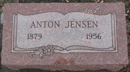 JENSEN, ANTON - Lincoln County, South Dakota | ANTON JENSEN - South Dakota Gravestone Photos