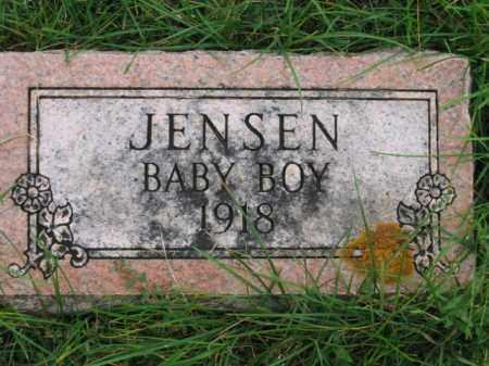 JENSEN, BABY BOY - Lincoln County, South Dakota | BABY BOY JENSEN - South Dakota Gravestone Photos