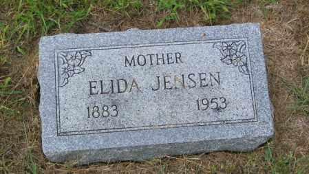 JENSEN, ELIDA - Lincoln County, South Dakota | ELIDA JENSEN - South Dakota Gravestone Photos