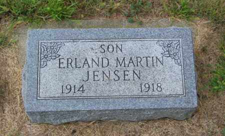 JENSEN, ERLAND MARTIN - Lincoln County, South Dakota | ERLAND MARTIN JENSEN - South Dakota Gravestone Photos