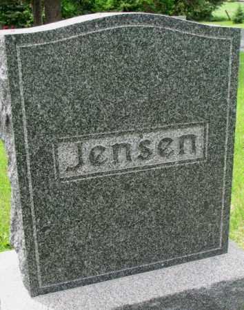 JENSEN, FAMILY PLOT MARKER - Lincoln County, South Dakota   FAMILY PLOT MARKER JENSEN - South Dakota Gravestone Photos