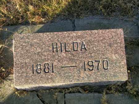 JENSEN, HILDA - Lincoln County, South Dakota | HILDA JENSEN - South Dakota Gravestone Photos