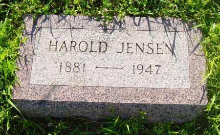 JENSEN, HAROLD - Lincoln County, South Dakota | HAROLD JENSEN - South Dakota Gravestone Photos