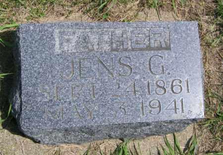 JENSEN, JENS G - Lincoln County, South Dakota   JENS G JENSEN - South Dakota Gravestone Photos