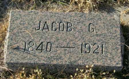 JENSEN, JACOB G - Lincoln County, South Dakota | JACOB G JENSEN - South Dakota Gravestone Photos