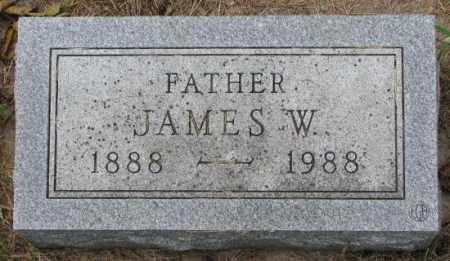 JENSEN, JAMES W. - Lincoln County, South Dakota | JAMES W. JENSEN - South Dakota Gravestone Photos