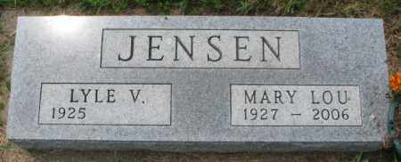 JENSEN, LYLE V. - Lincoln County, South Dakota | LYLE V. JENSEN - South Dakota Gravestone Photos
