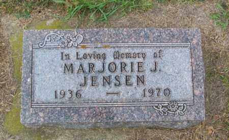 JENSEN, MARJORIE J - Lincoln County, South Dakota | MARJORIE J JENSEN - South Dakota Gravestone Photos