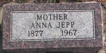 JEPP, ANNA - Lincoln County, South Dakota   ANNA JEPP - South Dakota Gravestone Photos