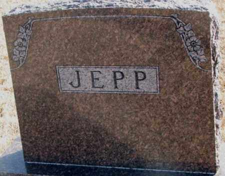 JEPP, PLOT MARKER - Lincoln County, South Dakota | PLOT MARKER JEPP - South Dakota Gravestone Photos