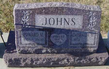 JOHNS, EMERALDA M - Lincoln County, South Dakota | EMERALDA M JOHNS - South Dakota Gravestone Photos