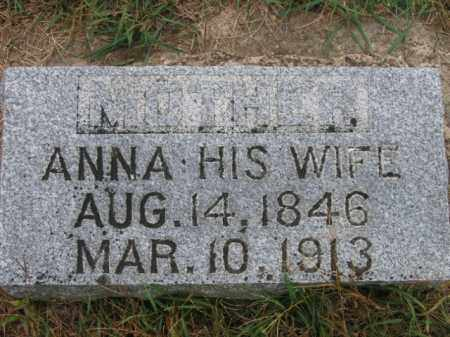 JOHNSON, ANNA - Lincoln County, South Dakota | ANNA JOHNSON - South Dakota Gravestone Photos