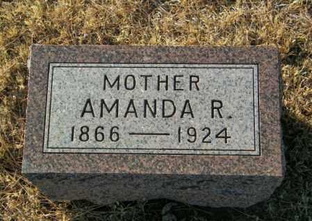 JOHNSON, AMANDA R - Lincoln County, South Dakota | AMANDA R JOHNSON - South Dakota Gravestone Photos
