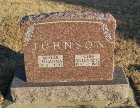 JOHNSON, JOHANNA - Lincoln County, South Dakota | JOHANNA JOHNSON - South Dakota Gravestone Photos