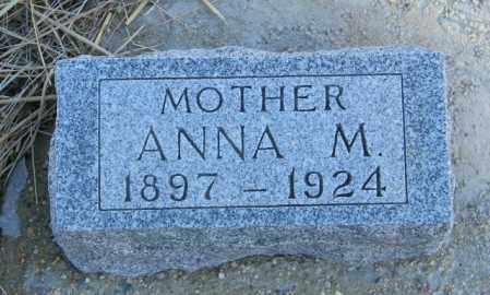 JOHNSON, ANNA M - Lincoln County, South Dakota   ANNA M JOHNSON - South Dakota Gravestone Photos