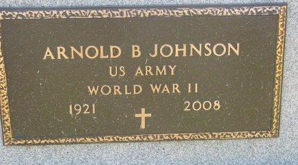 JOHNSON, ARNOLD B. (MILITARY) - Lincoln County, South Dakota | ARNOLD B. (MILITARY) JOHNSON - South Dakota Gravestone Photos
