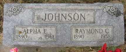 JOHNSON, ALPHA E - Lincoln County, South Dakota | ALPHA E JOHNSON - South Dakota Gravestone Photos