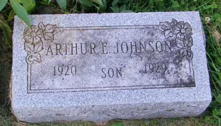 JOHNSON, ARTHUR E. - Lincoln County, South Dakota | ARTHUR E. JOHNSON - South Dakota Gravestone Photos