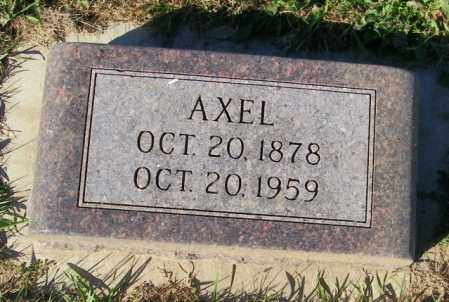 JOHNSON, AXEL - Lincoln County, South Dakota | AXEL JOHNSON - South Dakota Gravestone Photos
