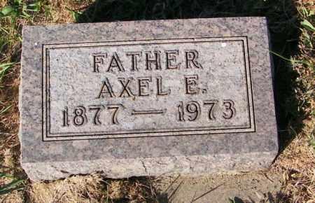 JOHNSON, AXEL E. - Lincoln County, South Dakota   AXEL E. JOHNSON - South Dakota Gravestone Photos