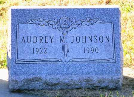 JOHNSON, AUDREY M - Lincoln County, South Dakota   AUDREY M JOHNSON - South Dakota Gravestone Photos