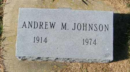 JOHNSON, ANDREW M - Lincoln County, South Dakota   ANDREW M JOHNSON - South Dakota Gravestone Photos