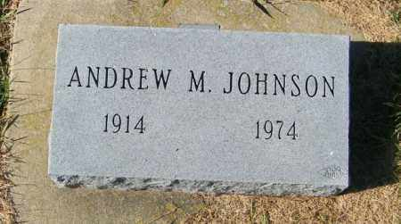 JOHNSON, ANDREW M - Lincoln County, South Dakota | ANDREW M JOHNSON - South Dakota Gravestone Photos
