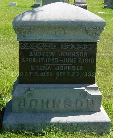 JOHNSON, STENA - Lincoln County, South Dakota   STENA JOHNSON - South Dakota Gravestone Photos