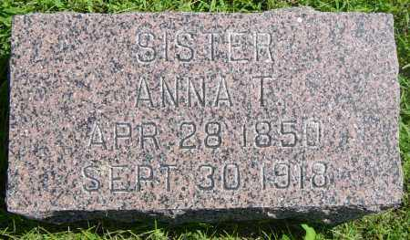 JOHNSON, ANNA T - Lincoln County, South Dakota   ANNA T JOHNSON - South Dakota Gravestone Photos