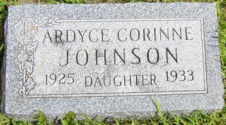 JOHNSON, ARDYCE CORINNE - Lincoln County, South Dakota   ARDYCE CORINNE JOHNSON - South Dakota Gravestone Photos