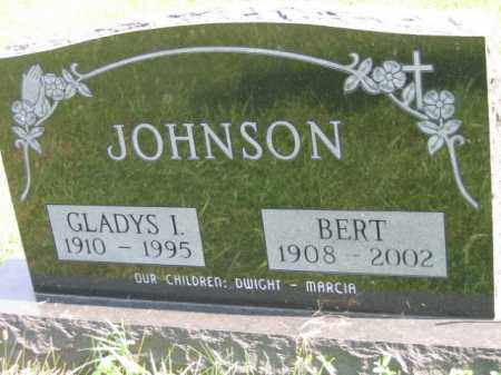 JOHNSON, BERT - Lincoln County, South Dakota | BERT JOHNSON - South Dakota Gravestone Photos