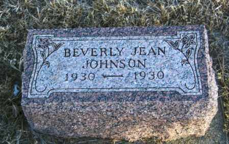 JOHNSON, BEVERLY JEAN - Lincoln County, South Dakota | BEVERLY JEAN JOHNSON - South Dakota Gravestone Photos