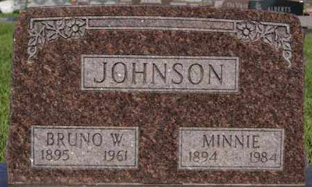 JOHNSON, MINNIE - Lincoln County, South Dakota | MINNIE JOHNSON - South Dakota Gravestone Photos
