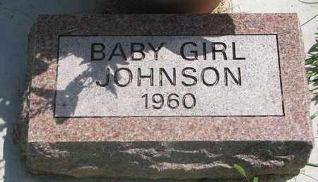 JOHNSON, BABY GIRL - Lincoln County, South Dakota   BABY GIRL JOHNSON - South Dakota Gravestone Photos
