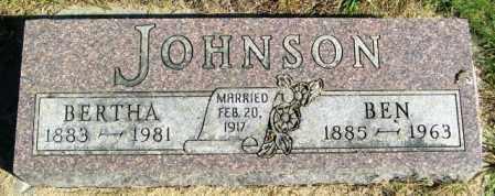 JOHNSON, BEN - Lincoln County, South Dakota | BEN JOHNSON - South Dakota Gravestone Photos
