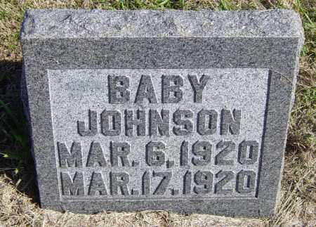 JOHNSON, BABY - Lincoln County, South Dakota | BABY JOHNSON - South Dakota Gravestone Photos