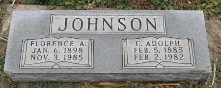 JOHNSON, FLORENCE A - Lincoln County, South Dakota | FLORENCE A JOHNSON - South Dakota Gravestone Photos